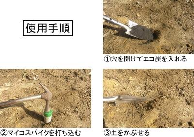 菌根菌含有打ち込み型肥料 マイコスパイク photo2